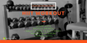Workout Wednesday #1 HIIT Runners